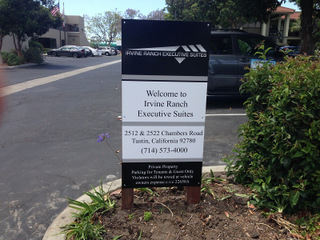 Leasing Office Signs Orange County