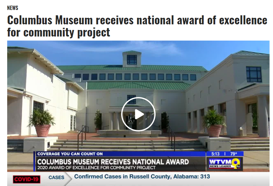 Columbus Museum receives national award of excellence for community project