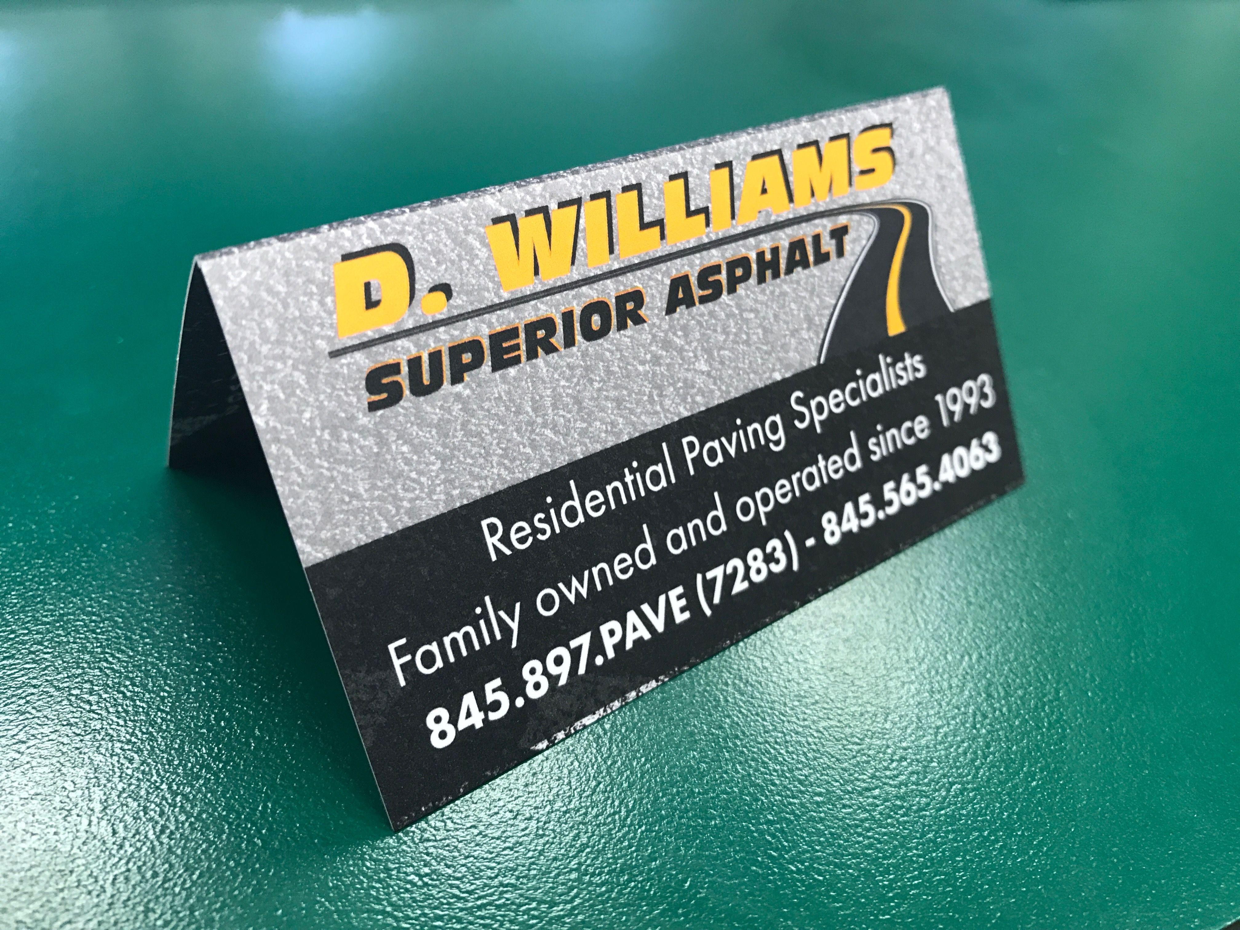 D. Williams Asphalt