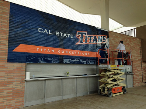 Vinyl Wall Wraps For School Gyms In Orange County