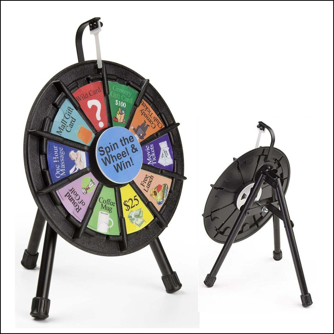10 Slot Prize Wheel
