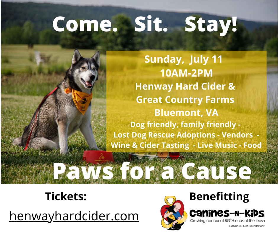 Paws for a Cause charity event benefitting Canines-N-Kids Foundation