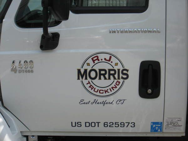 Truck Door Lettering & Graphics
