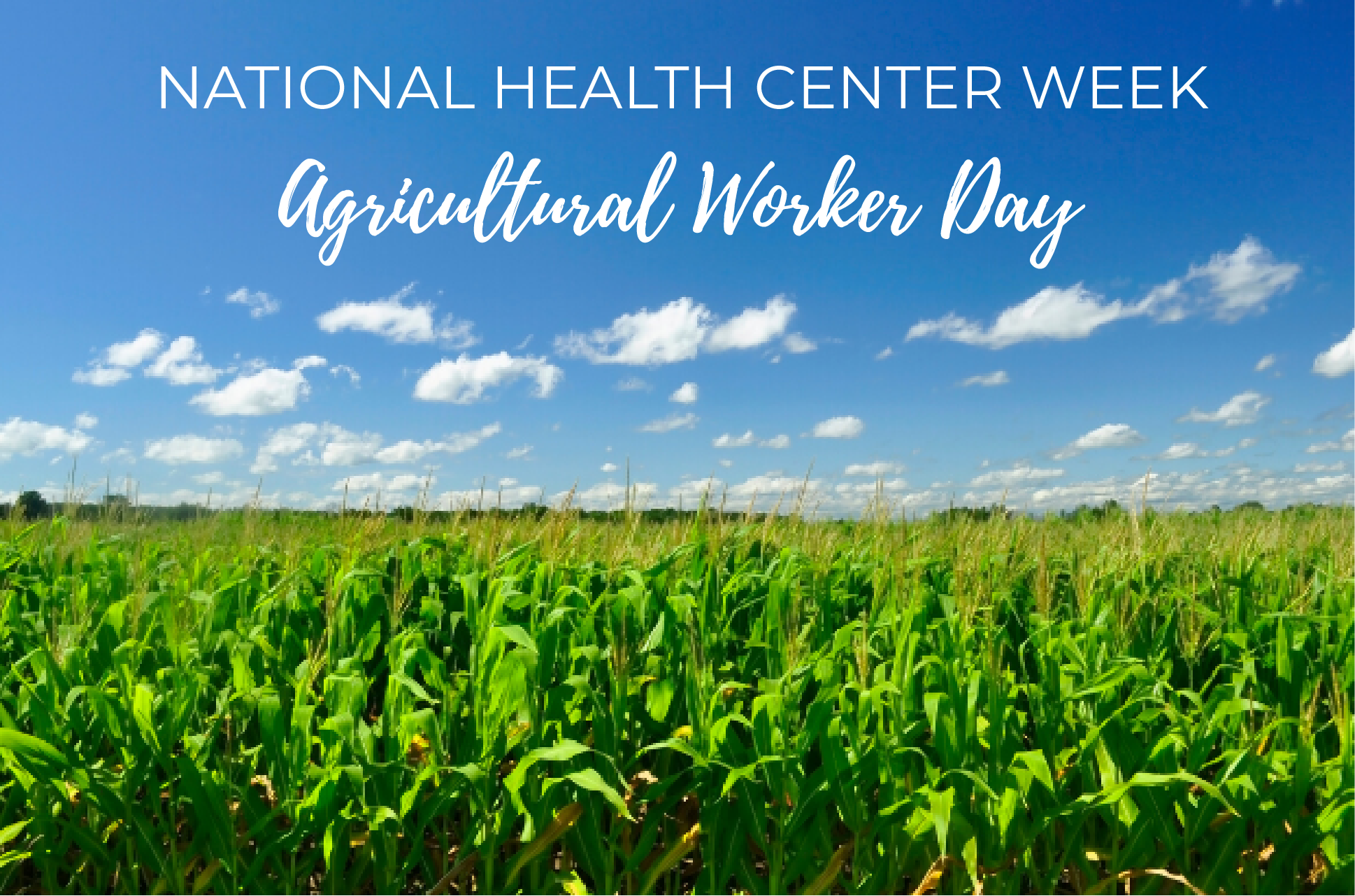 August 11: Agricultural Worker Health Center Day