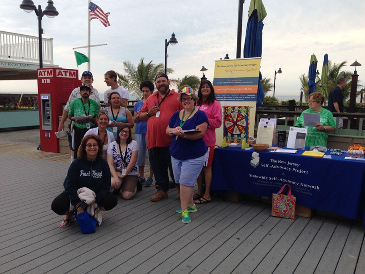 Annual ADA Awareness Day on Jenkinson's Boardwalk - 2014