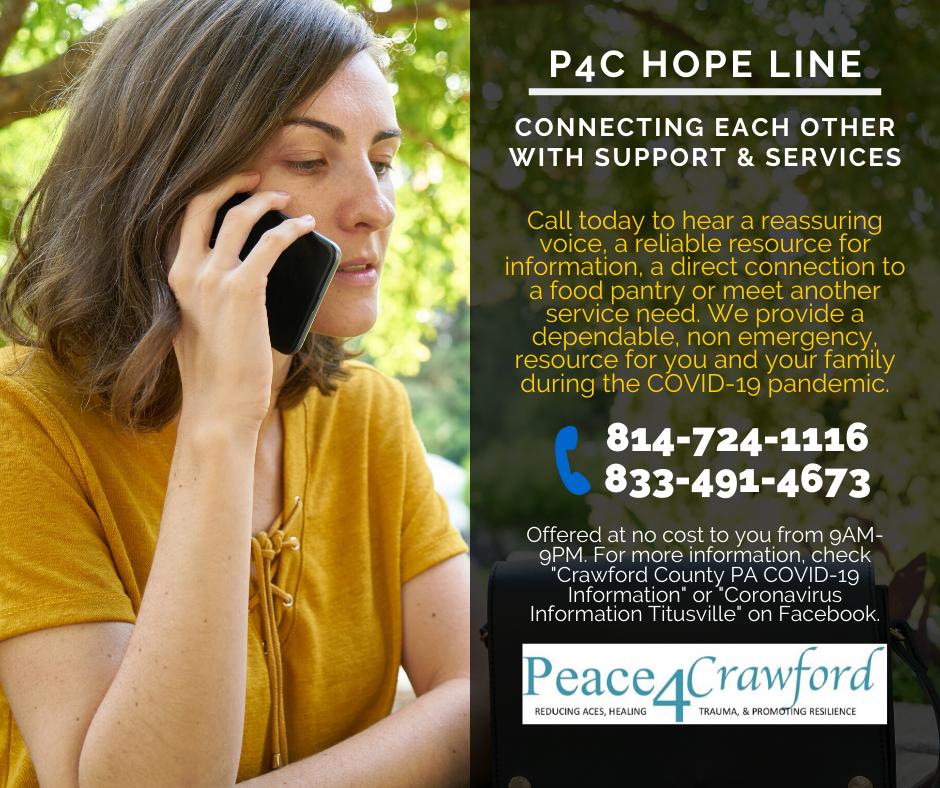P4C Hope Line