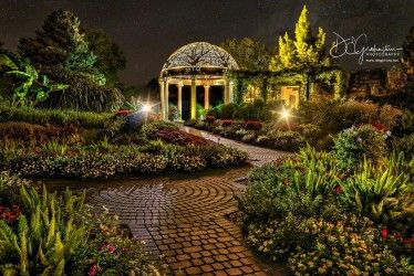The Sunken Gardens - Lincoln, NE