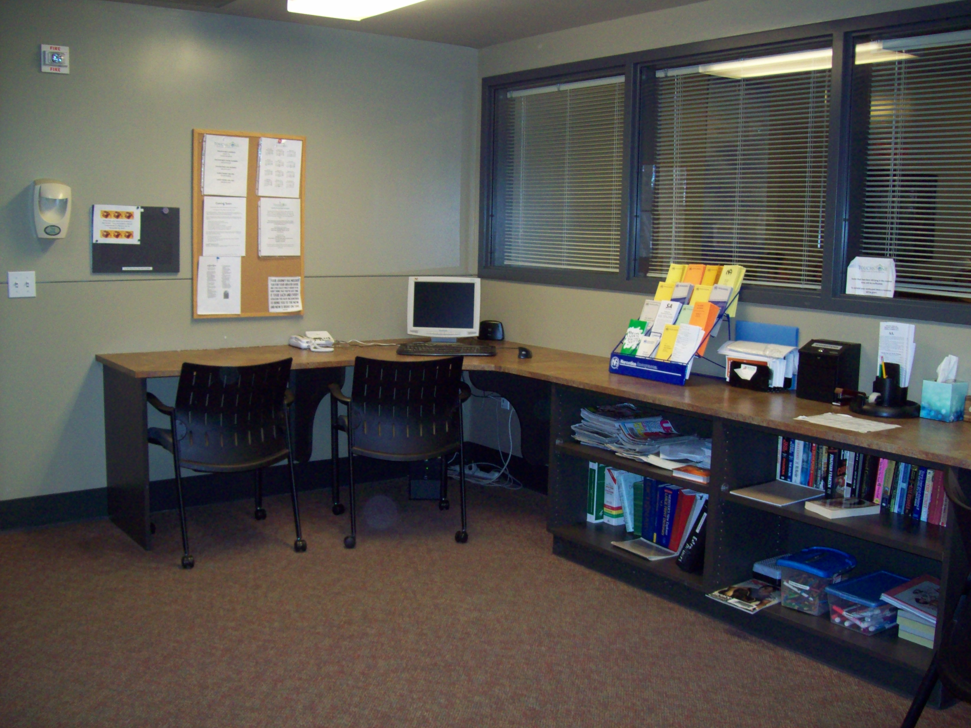 Computer/Library Area