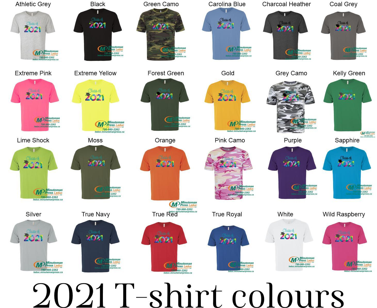 Grad 2021 - Super soft T-shirts -