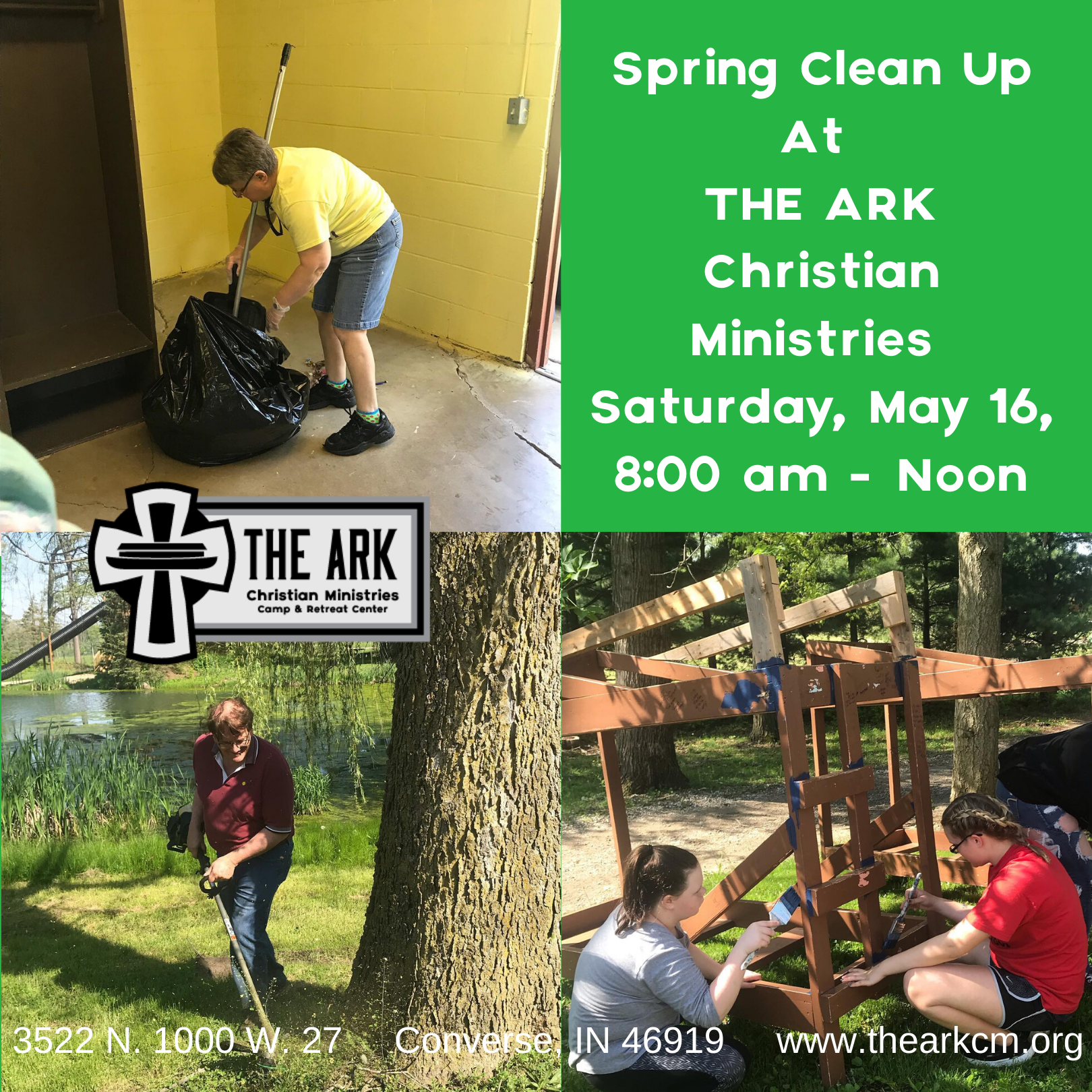Spring Clean Up Graphic for Facebook