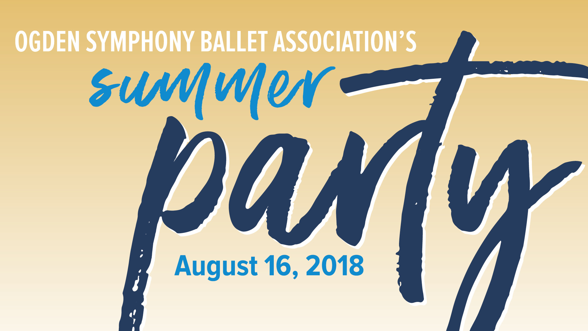OSBA's Summer Party - August 16