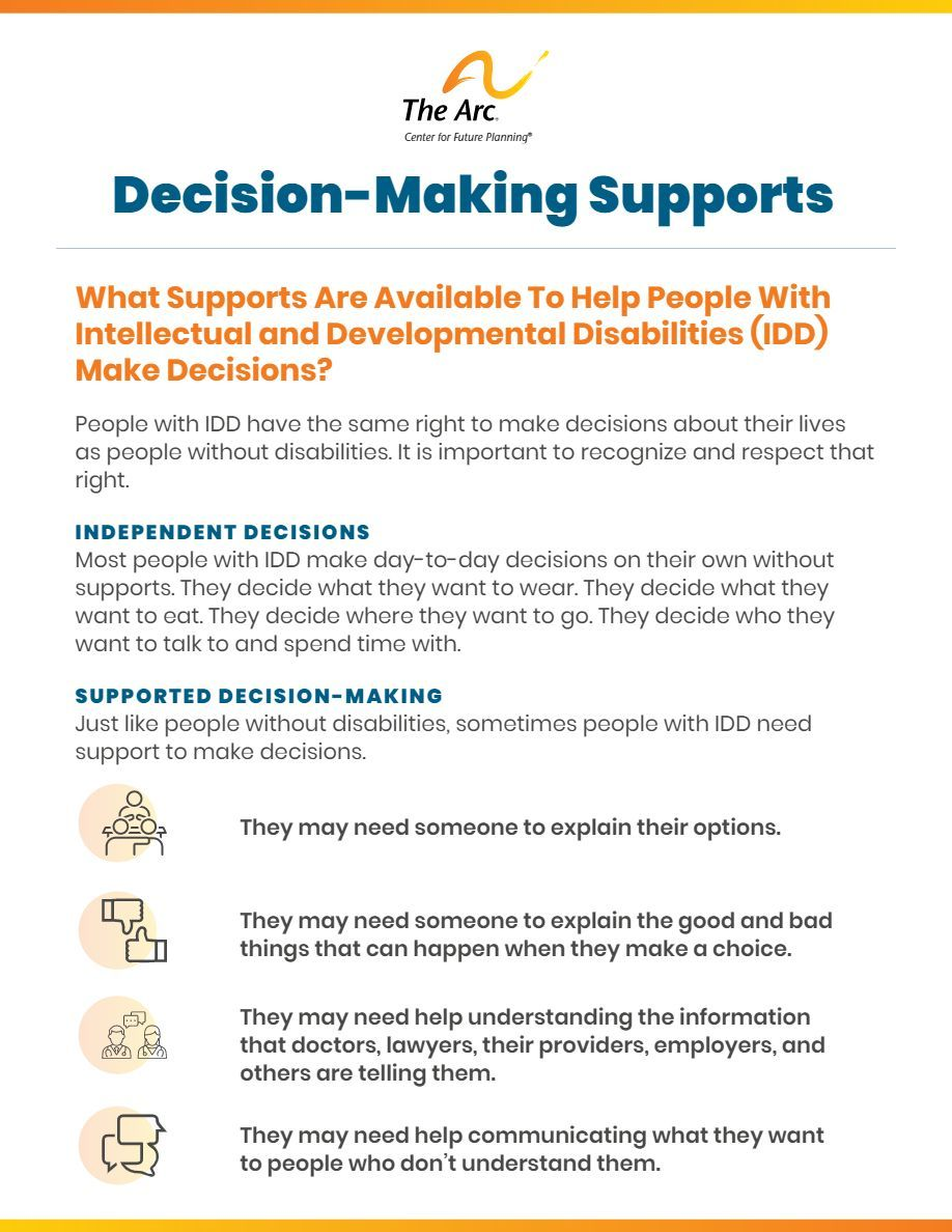 Decision-Making Supports