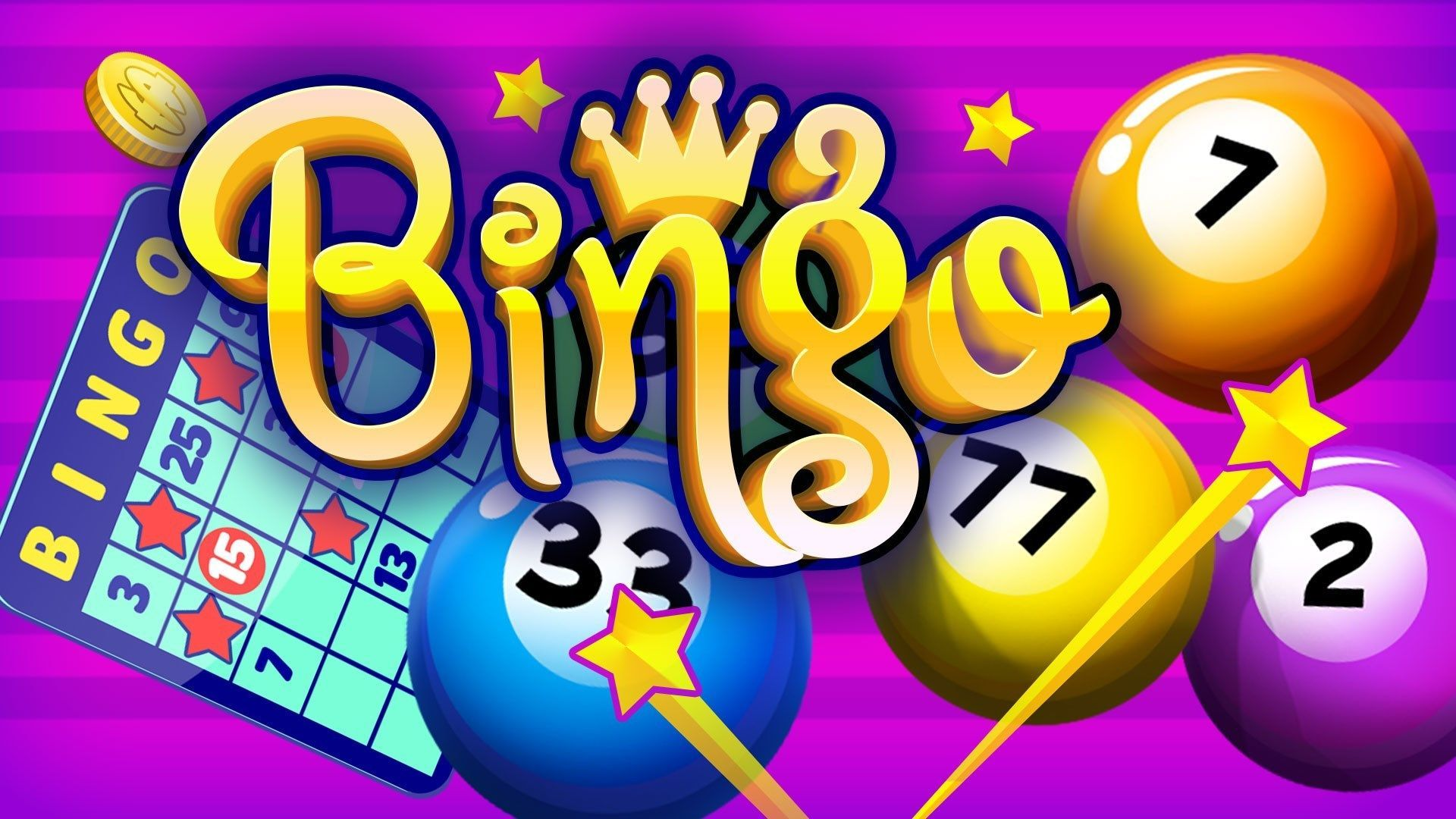 Sign up for our Virtual Bingo