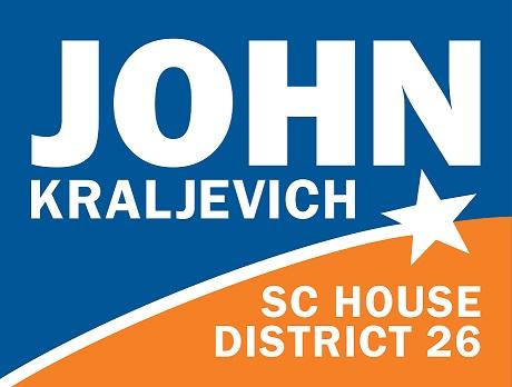John Kraljevich for SC House 26