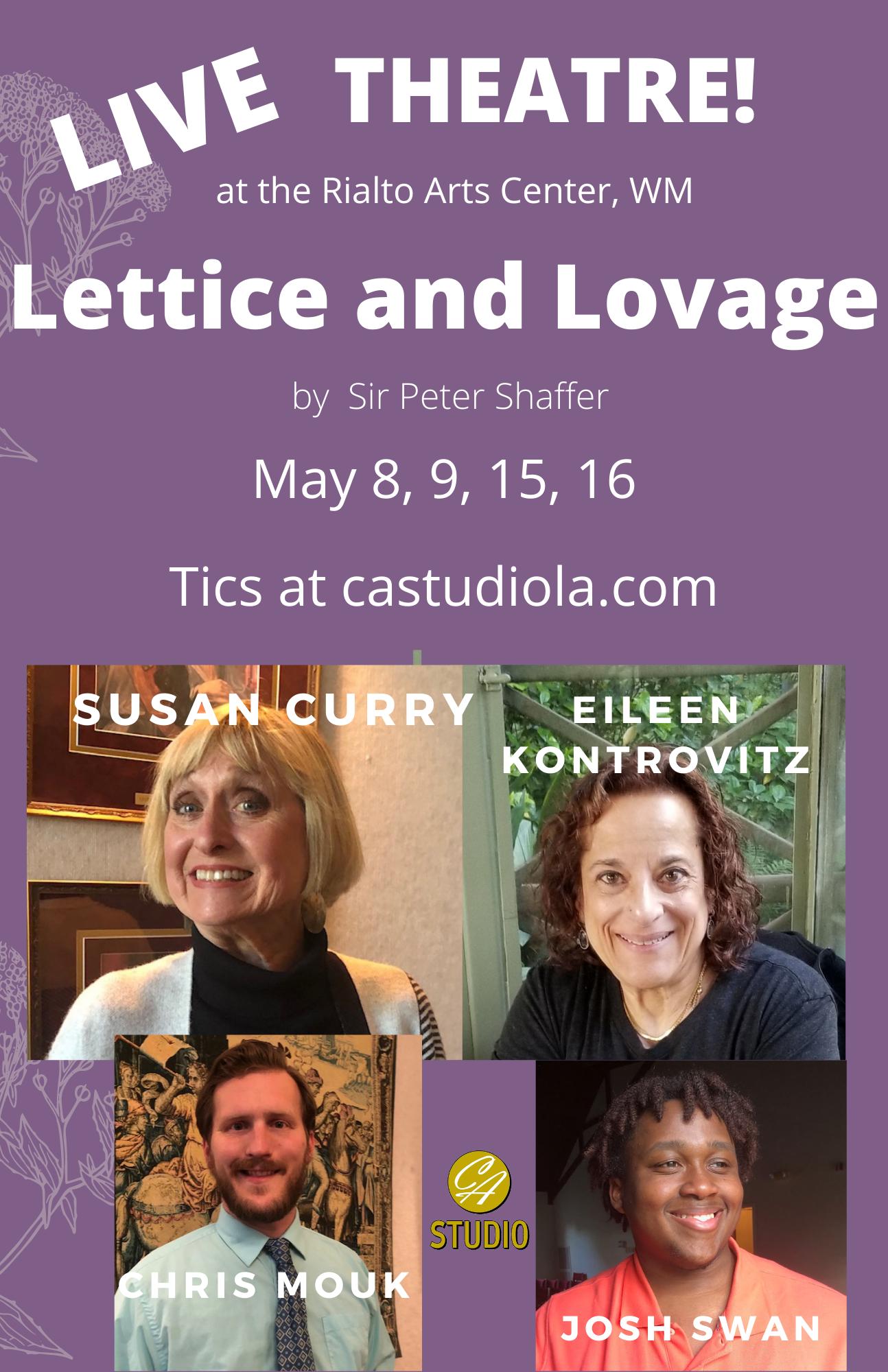 CA Studio: Lettice and Lovage