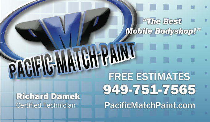 Pacific Match Paint