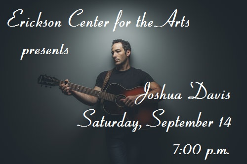 ECA presents Joshua Davis