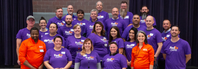 FedEx Teams Up with Operation Warm to Bring Hope to Children in Salt Lake City