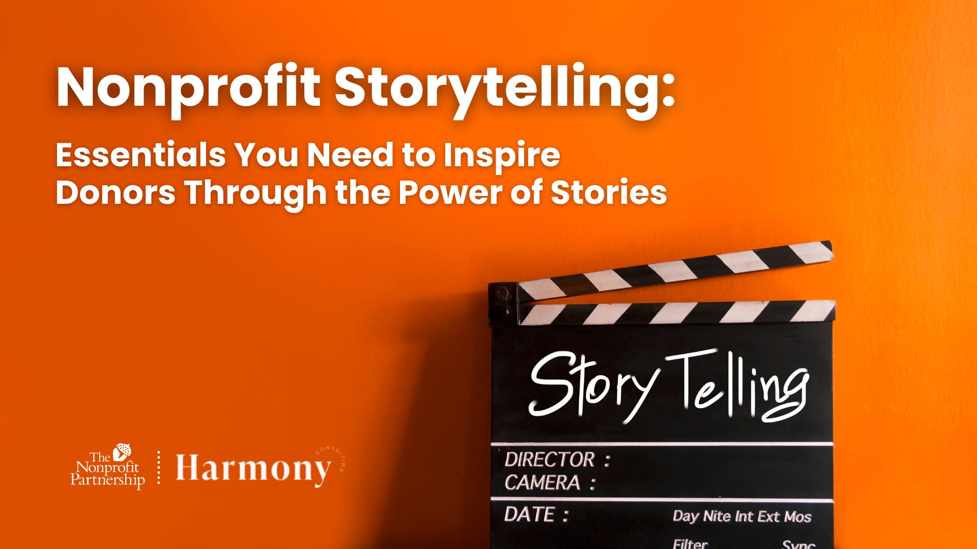 [Zoom Meeting] Nonprofit Storytelling: Essentials You Need to Inspire Donors Through the Power of Stories