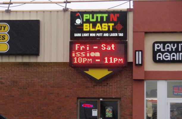 Putt N' Blast