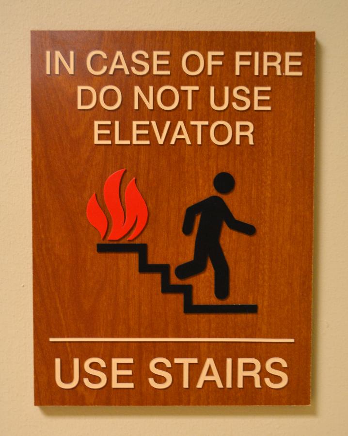 ADA Signage - Fire