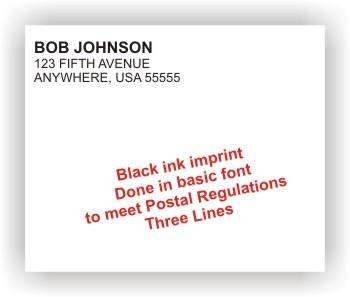 Imprinted Envelopes