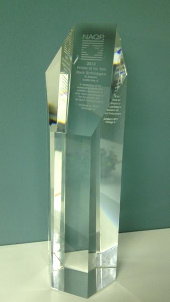 NAQP Award 2012