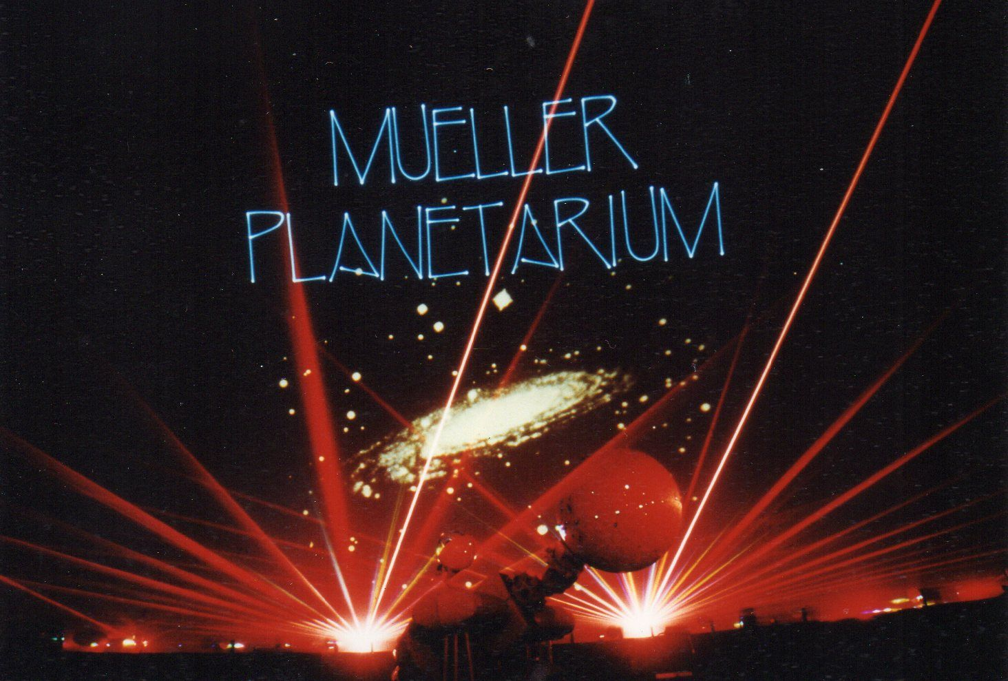 Laser show promotion (1980s)