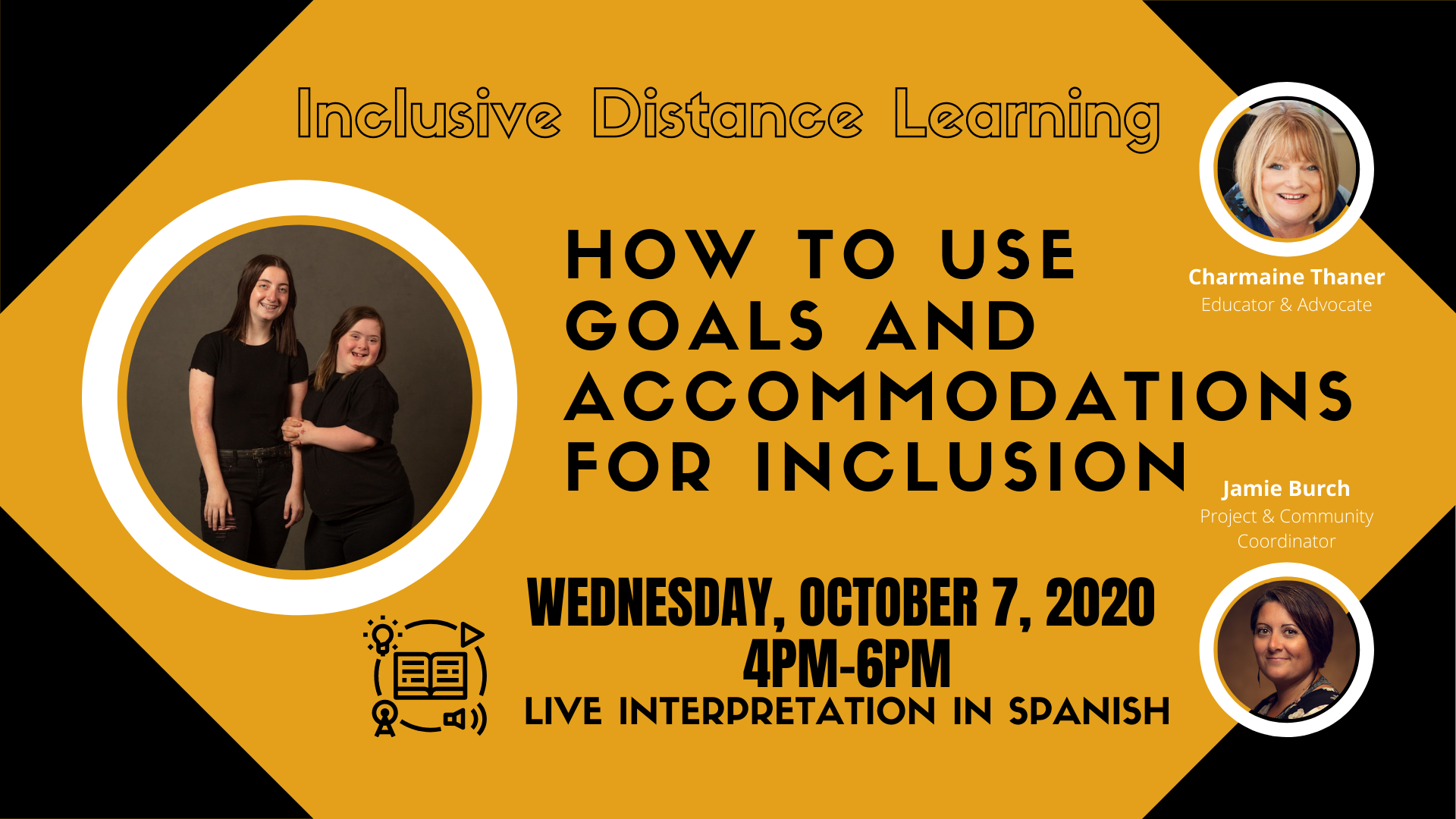 Inclusive Distance Learning; How to Use Goals and Accommodations for Inclusion