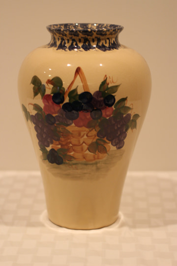 Hand painted Alpine pottery - Donated by Donna Cole