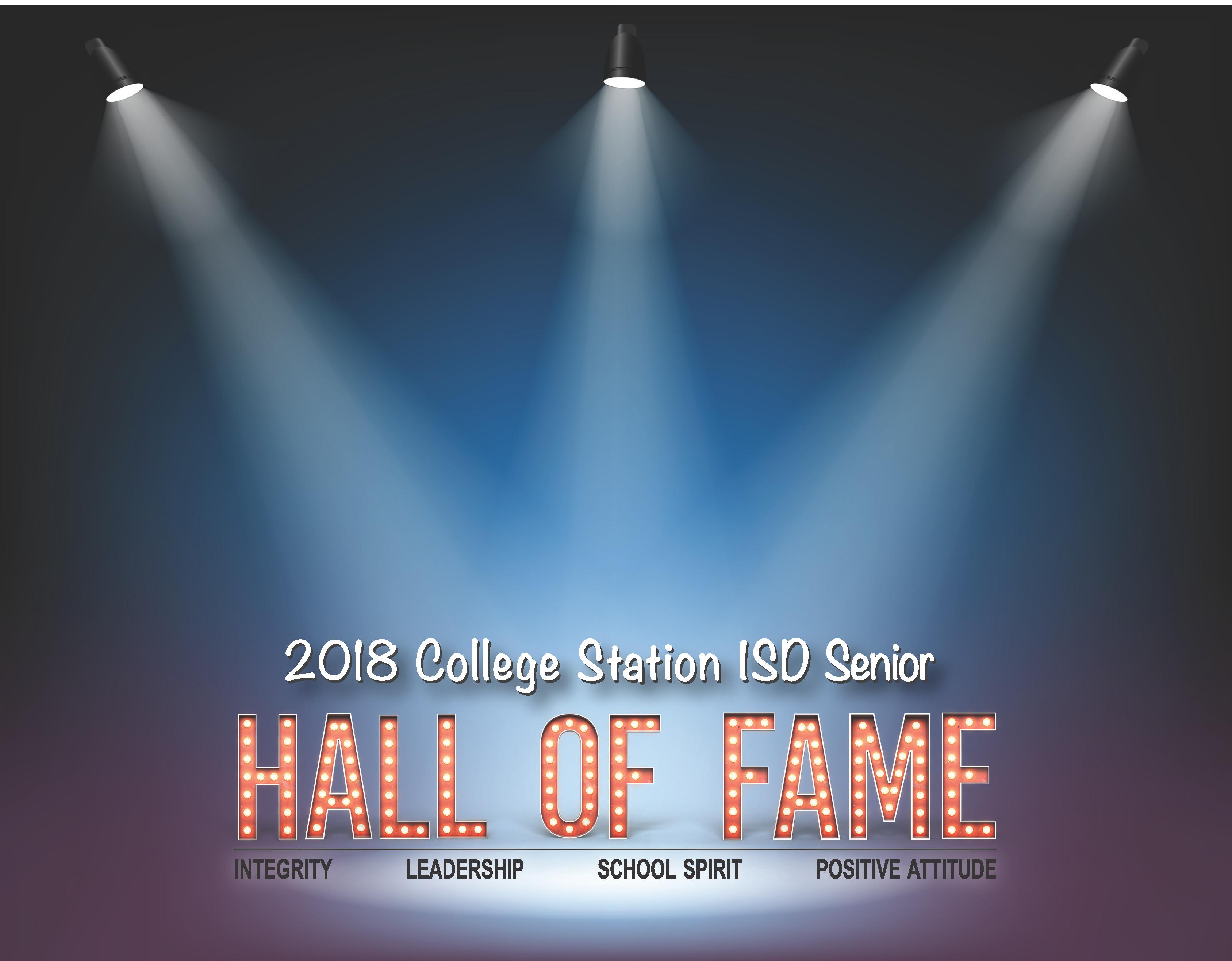 2018 Hall of Fame Program