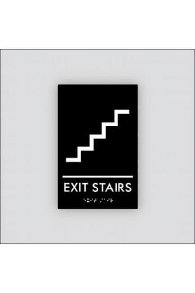 Exit Stair (w/ symbol)