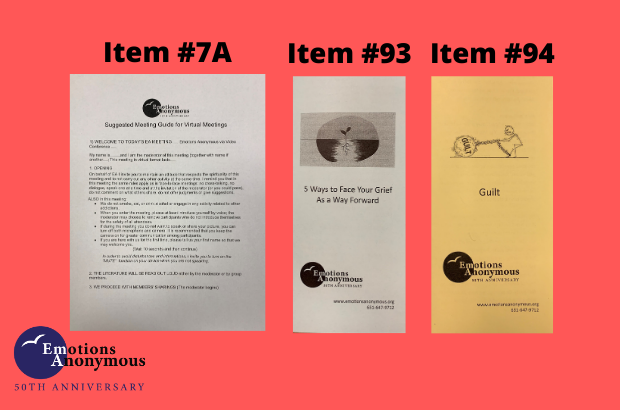 New Pamphlets & Literature Available to Order Now!