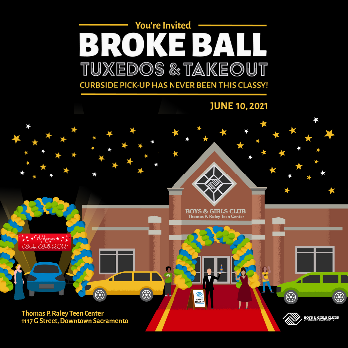Broke Ball 2021: Tuxedos & Takeout