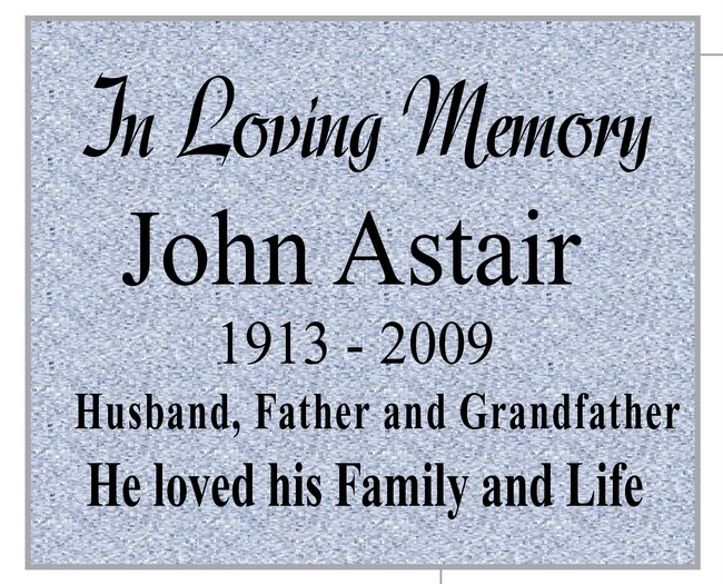 Small Plaques For Engraving Engraved Memorial Plaque