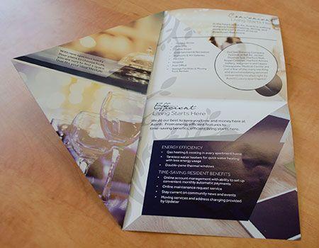 Avanti Brochure Unique Fold