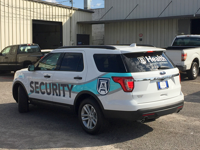 AU Health Security Vehicle