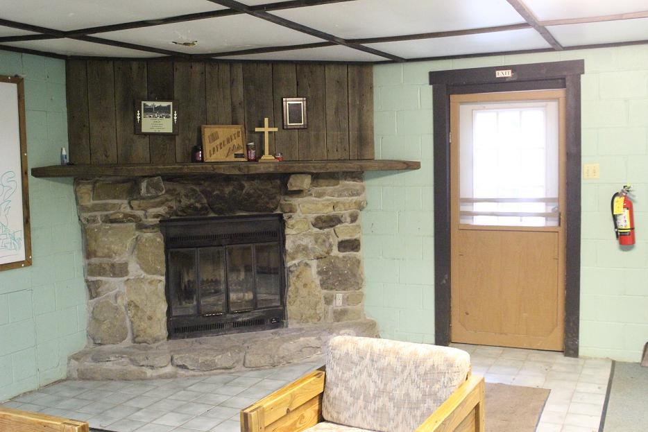 Miller Center Fireplace
