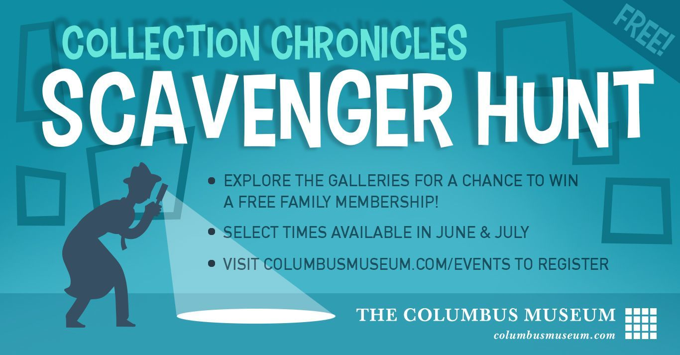The Collection Chronicles Scavenger Hunt
