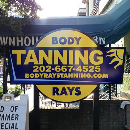 Body Tanning Rays