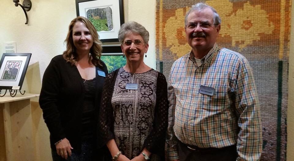 Northern Exposure Artists Reception with Carol Irving, Tracy Anderson, and Ben Bohnsack 2017
