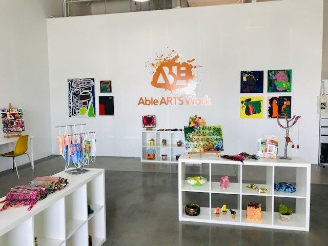 Able ARTS Work Retail Store & Gallery NOW OPEN!