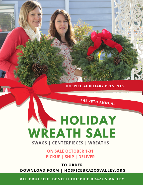 28th annual holiday wreath swag sale