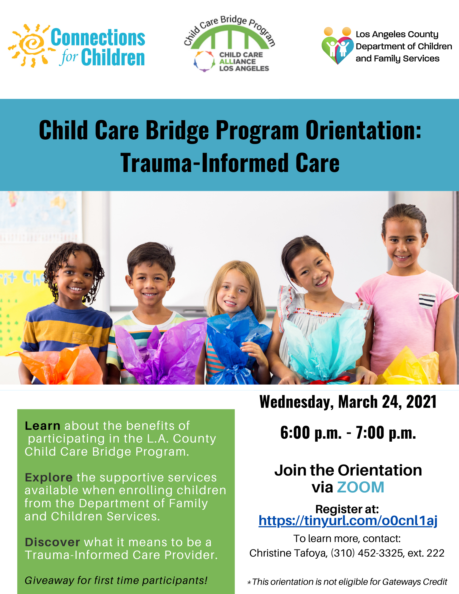 Child Care Bridge Orientation Presentation