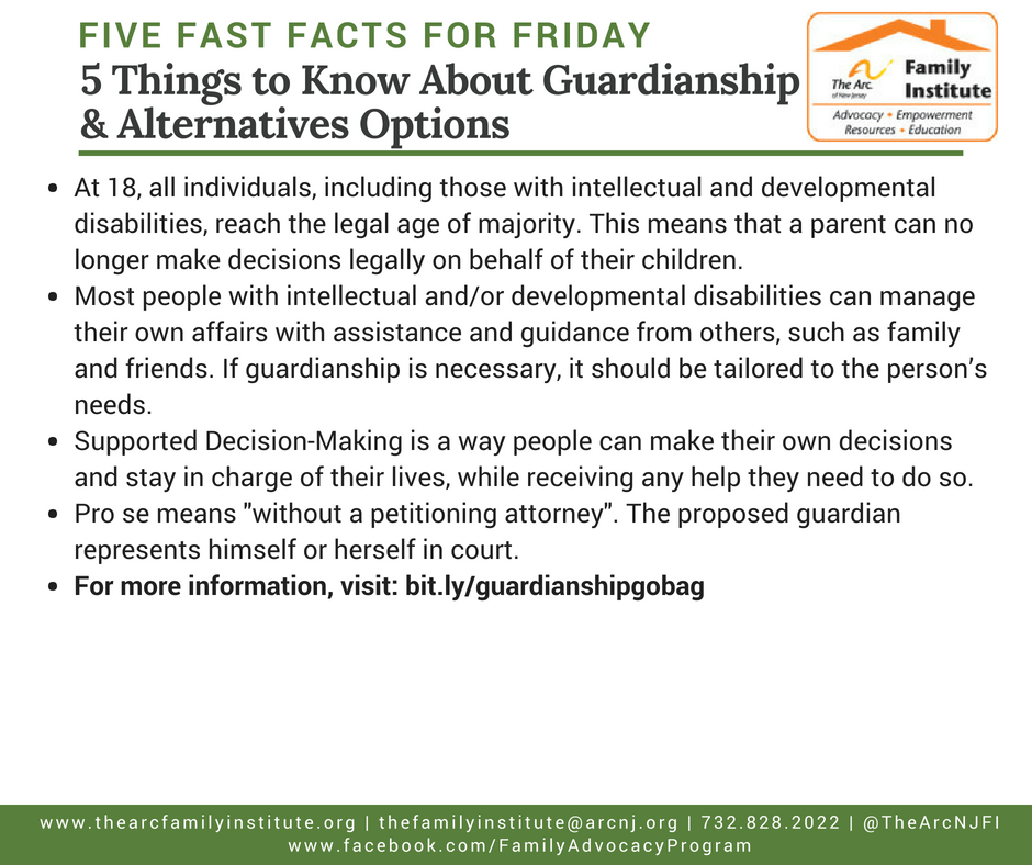 5 Things to Know About Guardianship & Alternatives Options