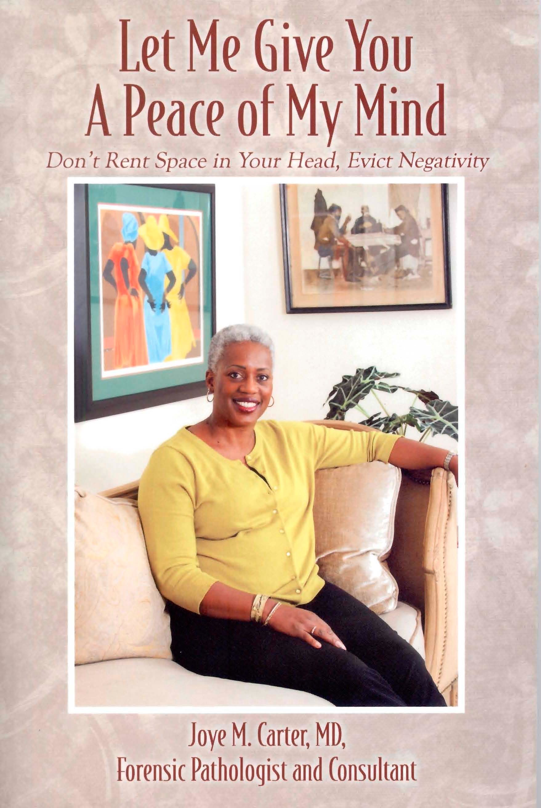 DR. JOYE M. CARTER PUBLISHES INSPIRATIONAL THIRD BOOK