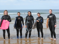 Body Boarding in Northern Ireland