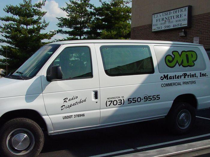 Master Print Van Graphics