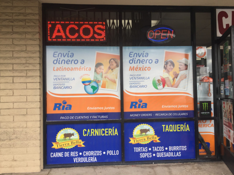 Perforated window graphics for retailers in Paramount CA