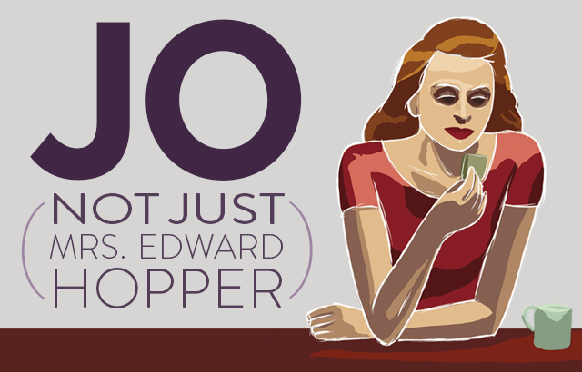 Jo (Not Just Mrs. Edward Hopper) by Norman Simon
